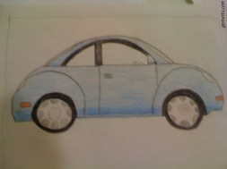 Cars with Color Pencils- Vikamadithya Ponnaganti