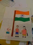 Kids Celebrate Republic Day-In Progress