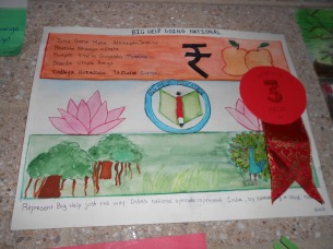 Represent BigHelp the way you represent Indian National Symbols-Amulya(3rd Prize Winner)