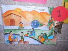 Village Life -True colors of India-Niharika(Ist Prize Winner)