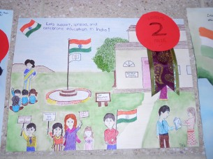 Support, Spread and Celebrate Education in India-Nithin(2 nd Prize Winner)