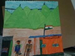 Republic Day in Indian Villages-Saketh
