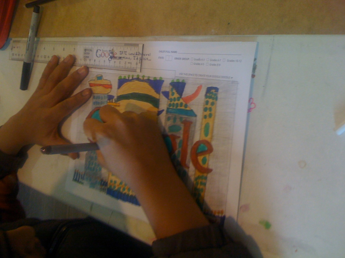 I'd Visit future cities after 200 years- Saketh(3rd Grade)-in Progress