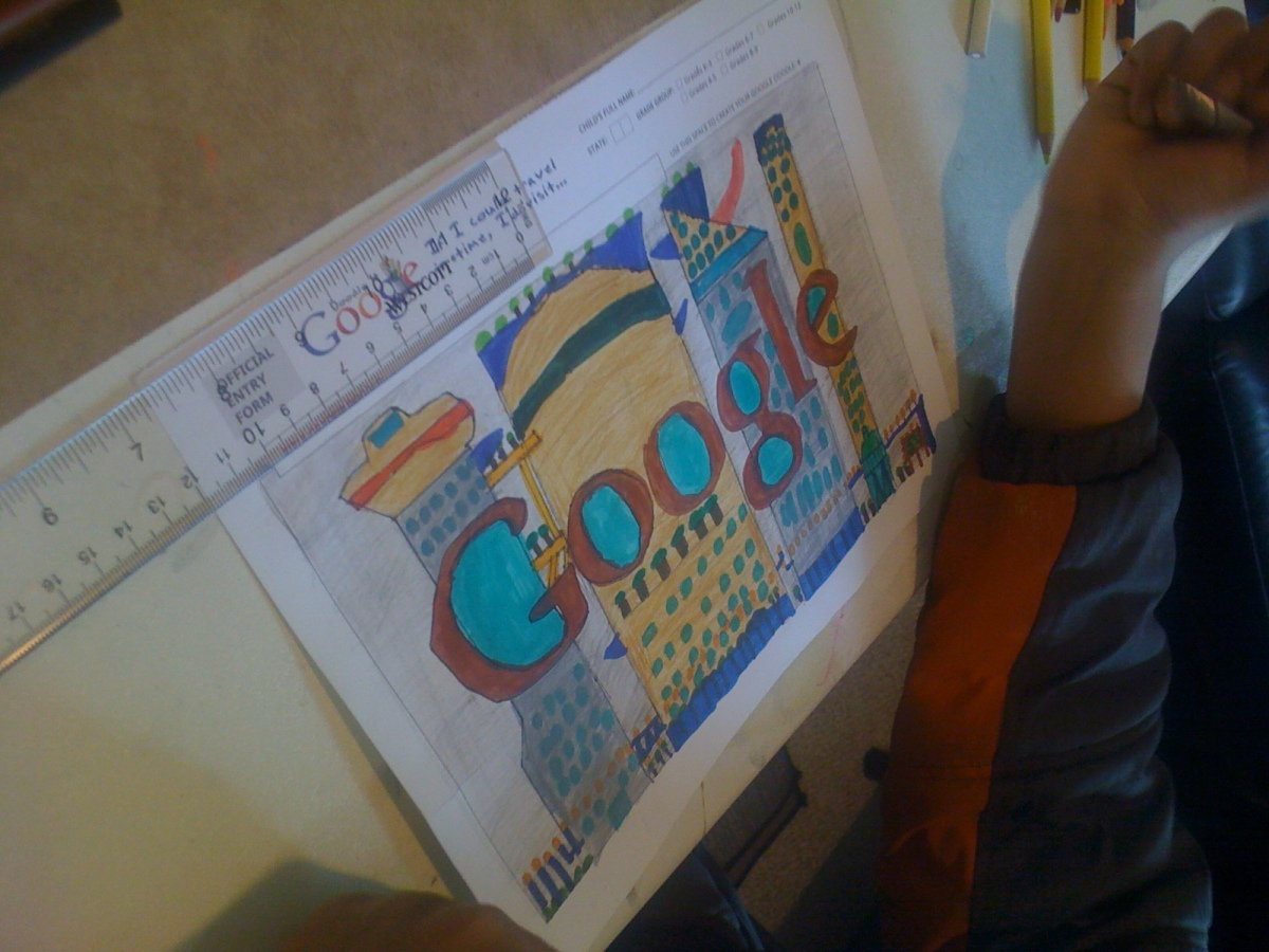 I'd Visit future cities after 200 years- Saketh(3rd Grade)