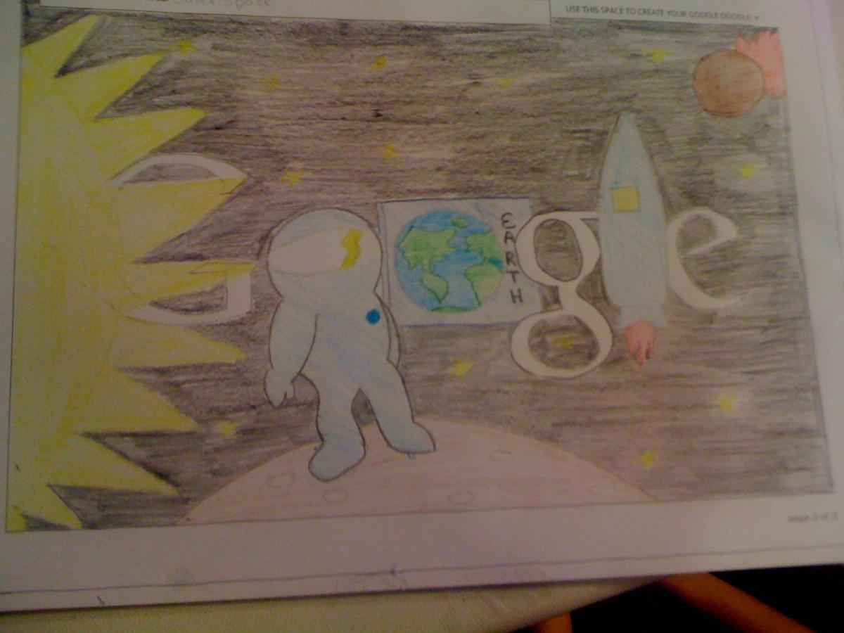 I'd Visit ' The Moon in Future' - Shreya Bommaraju(6th Grade)