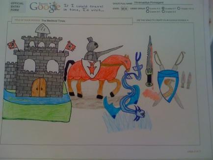 I'd Visit 'Medevial Times' - Vikkramaditya Ponnaganti(7th Grade)