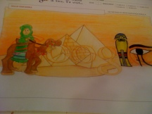 'Id Visit 'Ancient Egypt'- Varshita Jakkaraju-6th Grade