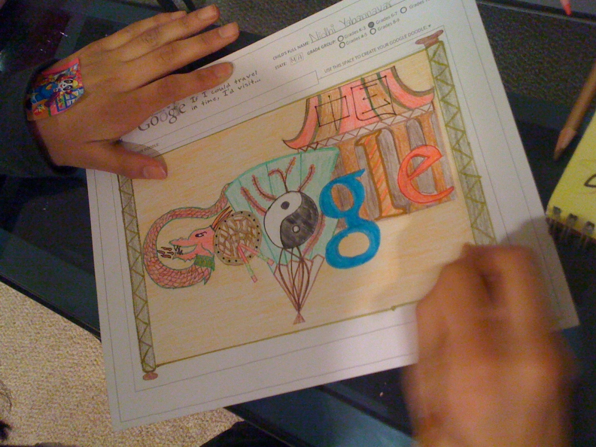 I'd Visit 'Ancient China' Nidhi Yabannavar(6th Grade)-In Progress